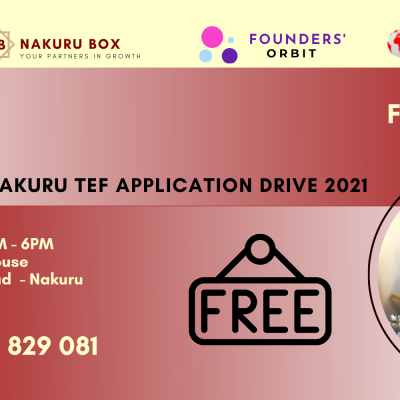 NAKURU TEF APPLICATION DRIVE 2021
